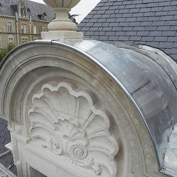 Rénovation d'une toiture à Poitiers
