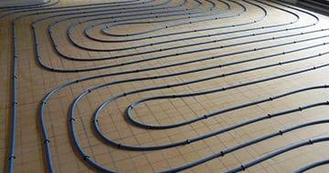 Istallation d'un plancher chauffant à Poitiers par le chaufagiste