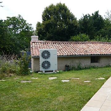 Pompe à Chaleur à Poitiers : une installation du plombier chauffagiste