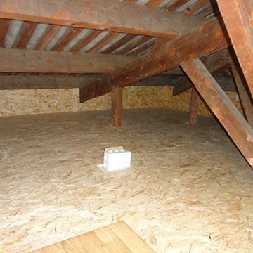 Aménagement d'un grenier à Poitiers